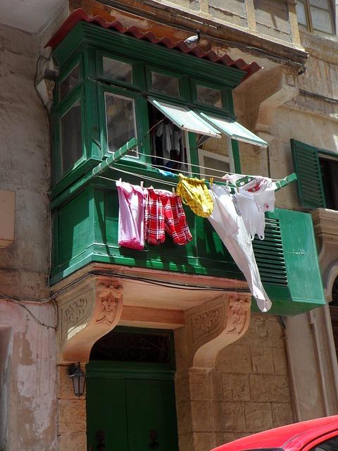 Wäscheständer für Balkon